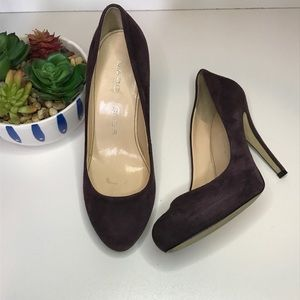 Marc Fisher Doranna 'purplish' Suede pumps size 7